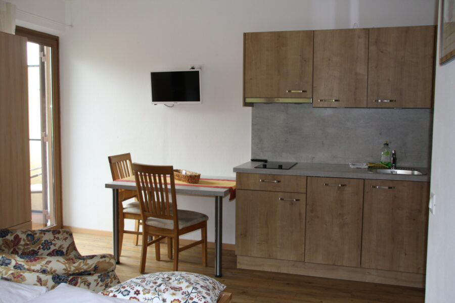 Apartment Penegal, kitchenette